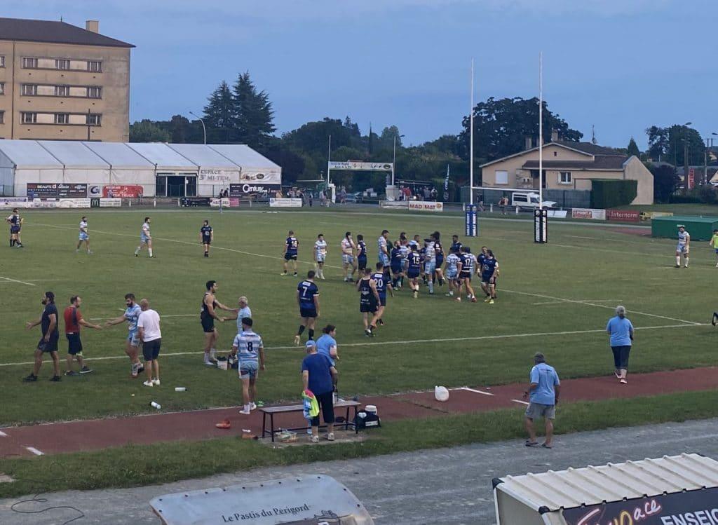 Cahors Rugby - 1er match amical sarlat